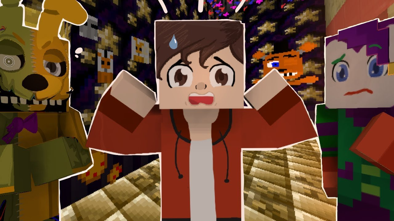 Two Timing Bryan? Minecraft FNAF 6 Pizzeria Simulator!  (Minecraft Roleplay)