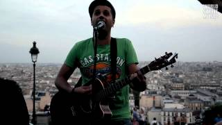 Haoulou (Cheb Mami) street cover at Montmartre (HD)