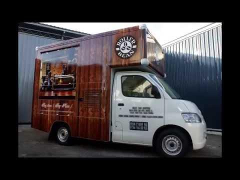EC STEEL - Mobile Cafe / Coffee Truck @ Malaysia