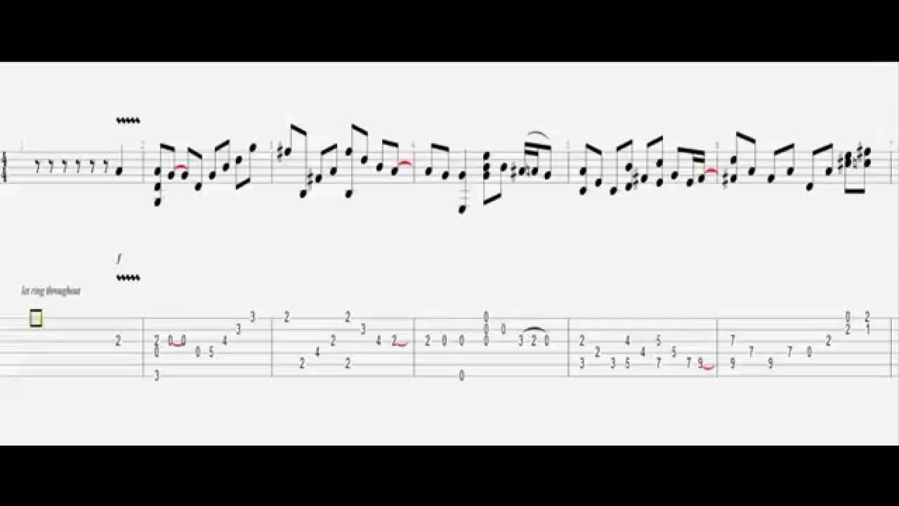 Queen - Don't Stop Me Now / Guitar Acoustic Tab HD - YouTube