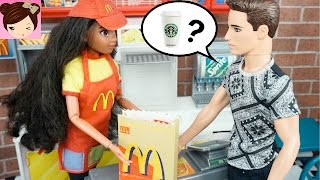 Disney Moana in Love? Moana Works at Mc Donalds and Goes on a DATE with Her New Crush