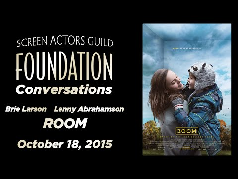 Conversations with Brie Larson and Lenny Abrahamson of ROOM