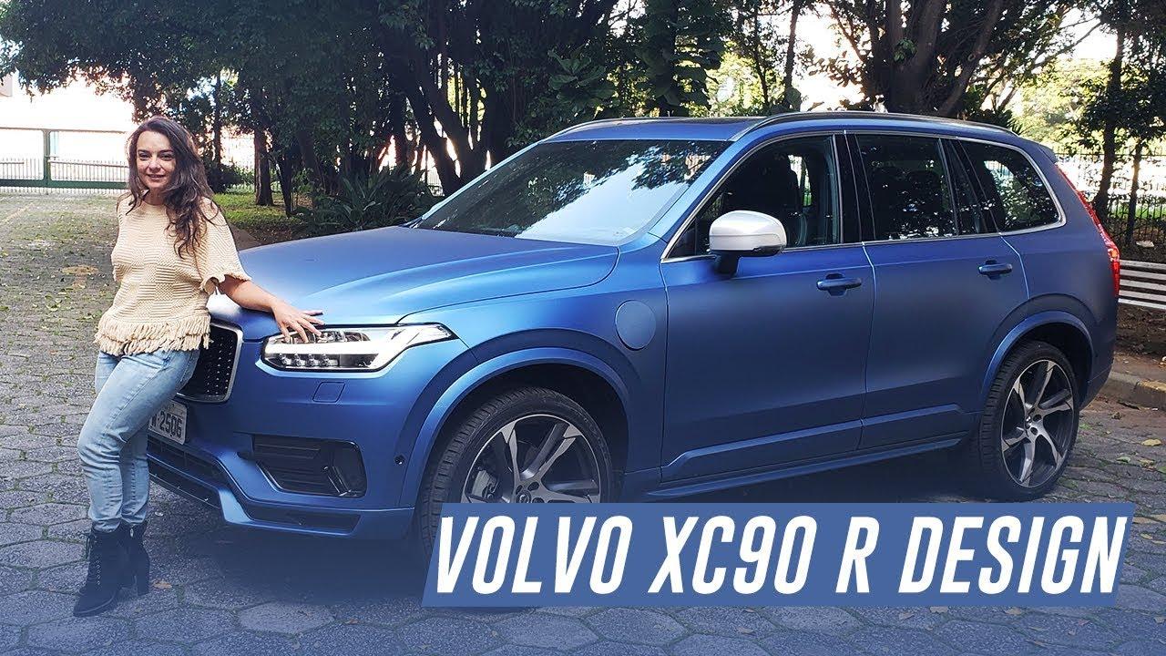 Volvo XC90 T8 R-Design - de cordeiro a lobo em um toque de botão