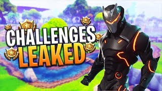 *NEW* LEAKED FUTURE SEASON 4 BATTLE PASS INFO! (CHALLENGES WEEK 2) - Fortnite: Battle Royale