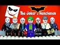LEGO® Batman Joker's Henchmen Minifigures MOC The Dark Knight Bank Robbery Scene