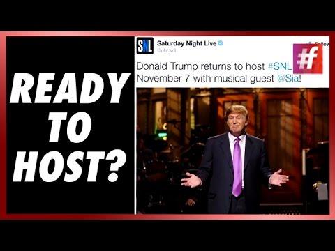 Will Donald Trump Host SNL on Nov 7?