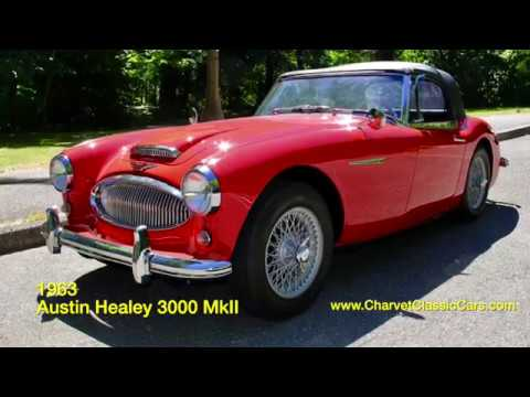 1963 Austin Healey 3000 MkII For Sale  Charvet Classic Cars   YouTube 1963 Austin Healey 3000 MkII For Sale  Charvet Classic Cars