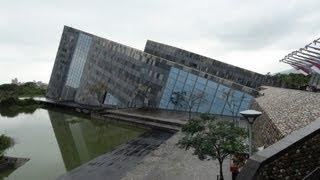 Lanyang Museum (蘭陽博物館), Yilan, Taiwan, 12/20/2012