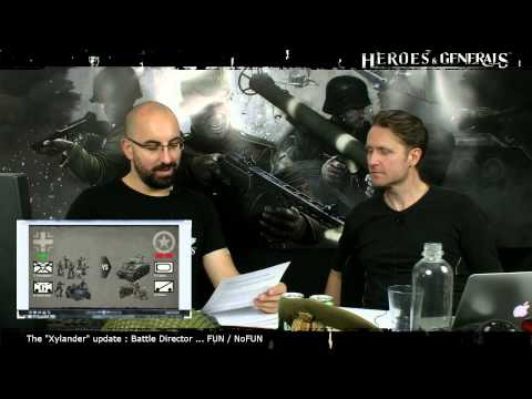 Heroes & Generals Devstream #42: Live from Copenhagen