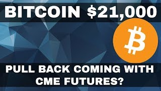Crypto News Bitcoin Breaks 21,000 ahead of futures. We setting up for a strong pullback