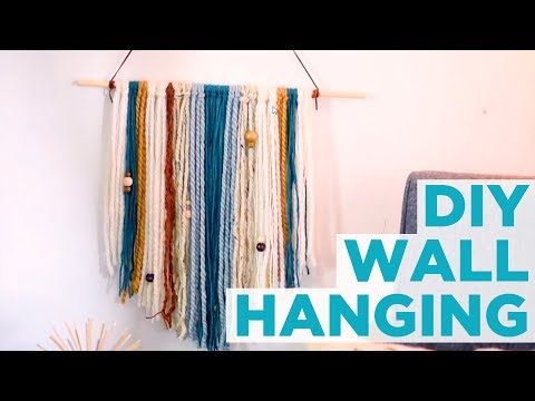 DIY Yarn Wall Hanging - HGTV