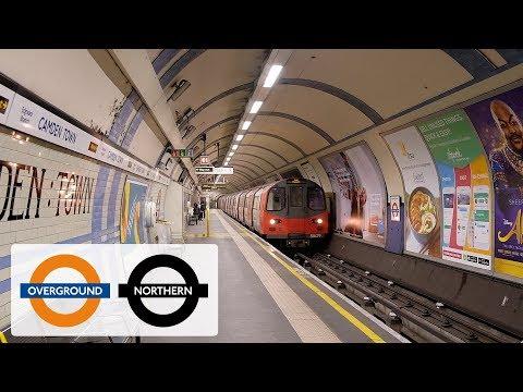 London Underground/Overground at Camden Town/Road stations