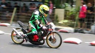 Drag Bike AHRS Seri 2 - Wonosari Gunung Kidul Yogyakarta (Indonesia Drag Bike Championship 2016)