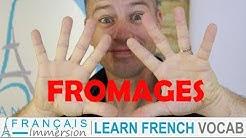 TOP 10 FAVORITE FRENCH CHEESES - Les Fromages Préférés des Français | Learn French Culture