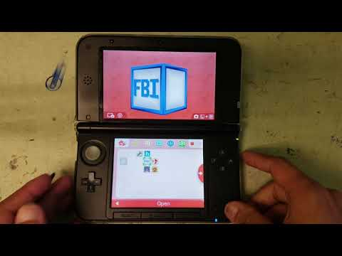 How to install .CIA Files on your Nintendo 3DS 3DS XL 2DS 2DS XL NEW 2SD XL with FBI