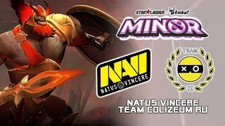 NaVi vs Colizeum | StarLadder ImbaTV Dota 2 Minor Season 2