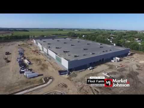 Fleet Farm (Cedar Falls, IA) Progress 8.23.19