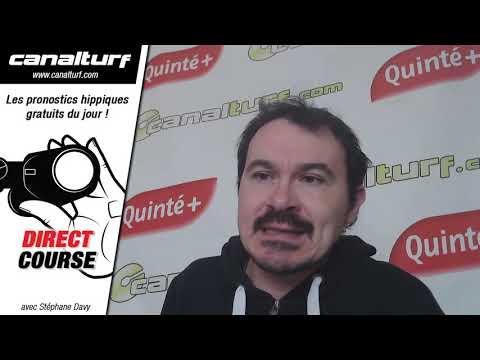 emission video des courses turf pmu du Mardi 28 janvier 2020