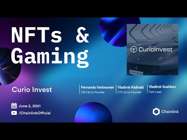 Chainlink Live | CurioInvest: Collectible Car NFTs as DeFi Stablecoin Collateral