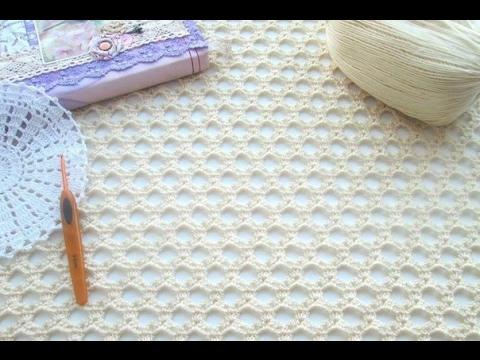 Вязание сетки крючком схемы
