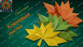 Оригами Кленовый Лист | Кленовый Листик Своими руками