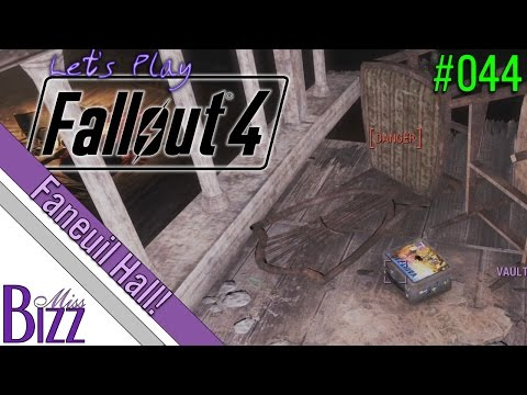 Faneuil Hall! #044 Let's Play Fallout 4 Blind