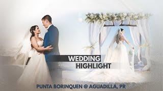 Punta Borinquen Resort- Paola & Dylan Moore Wedding