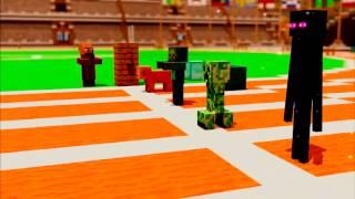 Смешные моменты в minecraft 2 (Bite-sized)  (субтитры)
