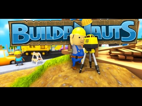 Buildanauts Gameplay   LET'S BUILD A TOWN!   Part 1   Let's Play Buildanauts Gameplay and Review