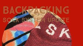 Backpacking socks system update