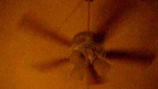 hampton bay landmark ceiling fan wood blades 4 17 11