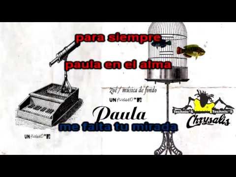 Paula - Zoe (Cvr) Karaoke
