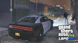 LSPDFR #464 CITY PATROL !! (GTA 5 REAL LIFE POLICE MOD) FT CECE LAW
