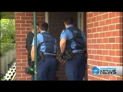 Perth Police Raid Drug Houses (2013)