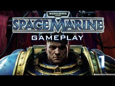 Ω Warhammer 40k: Space Marine - Gameplay Campaña - Misión 1 (parte 1) | Los Putos Amos!
