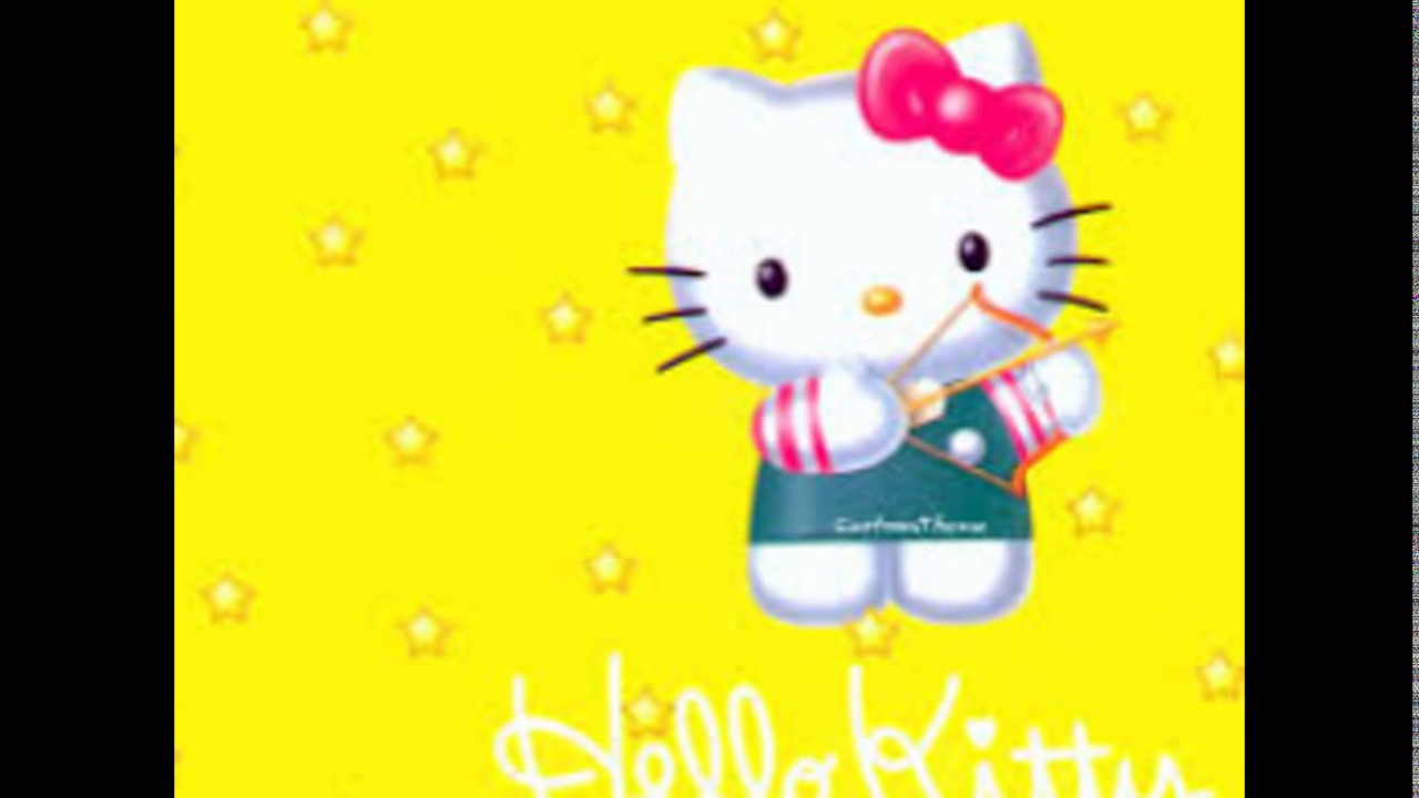 Hello Kitty Wallpaper Kuning