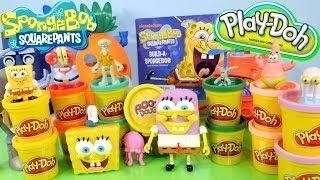 Spongebob Play Doh Pants Making Your Own Flower And Tree With Play Doh