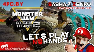 Monster Jam Steel Titans 2 Gameplay (Chin & Mouse Only)