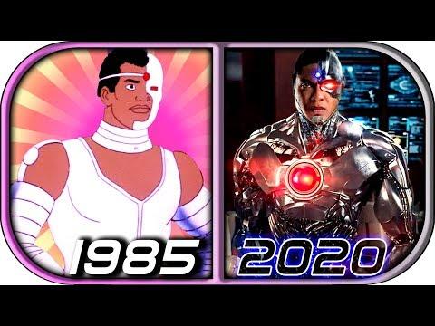 EVOLUTION of CYBORG in Movies Cartoons TV 1985-2020 Cyborg trailer 2020 movie trailer cyborg clip