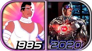 EVOLUTION of CYBORG in Movies Cartoons TV (1985-2020) Cyborg trailer 2020 movie trailer cyborg clip