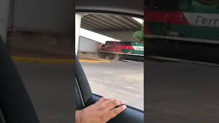 Dangerous Train and Semi Truck Collide #Shorts