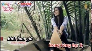 Karaoke [TAN NHAC] Đò lạc bến yêu - song ca Xakura