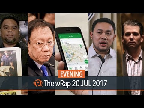 Grab and Uber, SALN, Calida | Evening wRap