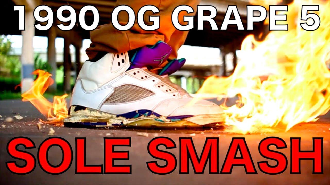 Og Grape 5s OG 1990 GRAPE 5...