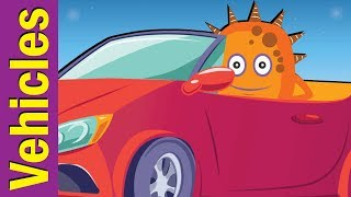 The Vehicles Song | Learn Transportation | ESL for Kids | Fun Kids English