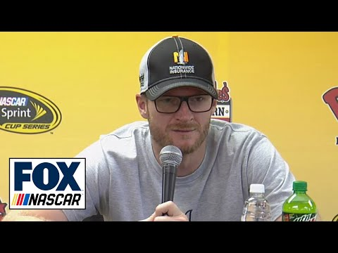 Dale Earnhardt Jr. Gives Concussion Recovery Update - Darlington 2016