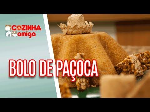 Bolo De Paçoca Com Pé De Moleque - Patricia Gonçalves | Cozinha Amiga (13/06/18)