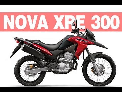Nova Honda 300 2018 >> Nova Honda XRE 300 2018 2019 - Ficha Técnica, Preço - YouTube