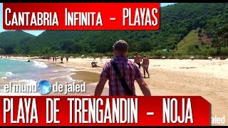 PLAYAS SALVAJES DE CANTABRIA   Playa de TRENGANDIN - Noja