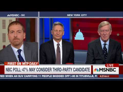 5 May 2016: Libertarian Party VP Nominee Bill Weld on Clinton Email Case